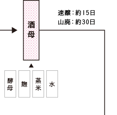 純米造りの工程3