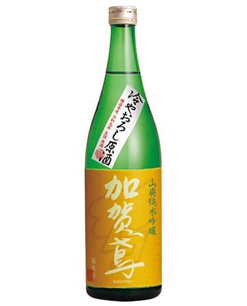 8月下旬発売 加賀鳶 山廃純米吟醸 冷やおろし